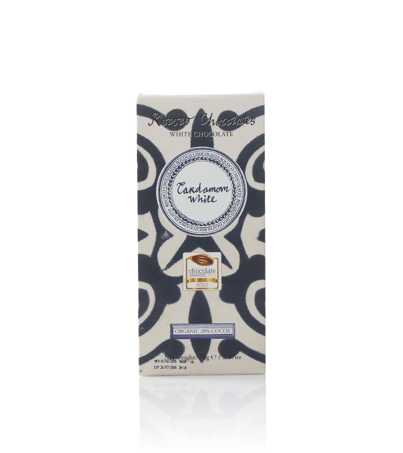 Rococo - Organic Cardamom White Chocolate