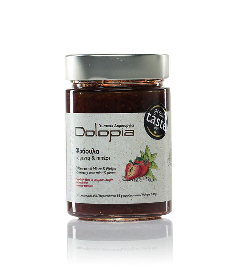 Dolopia - Strawberry jam with mint & pepper